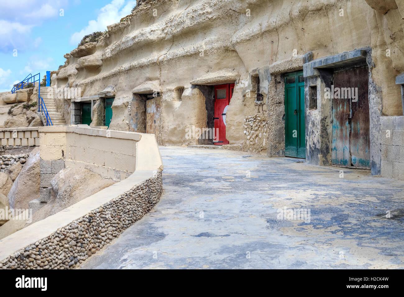 Dahlet Qorrot, Gozo, Malta - Stock Image