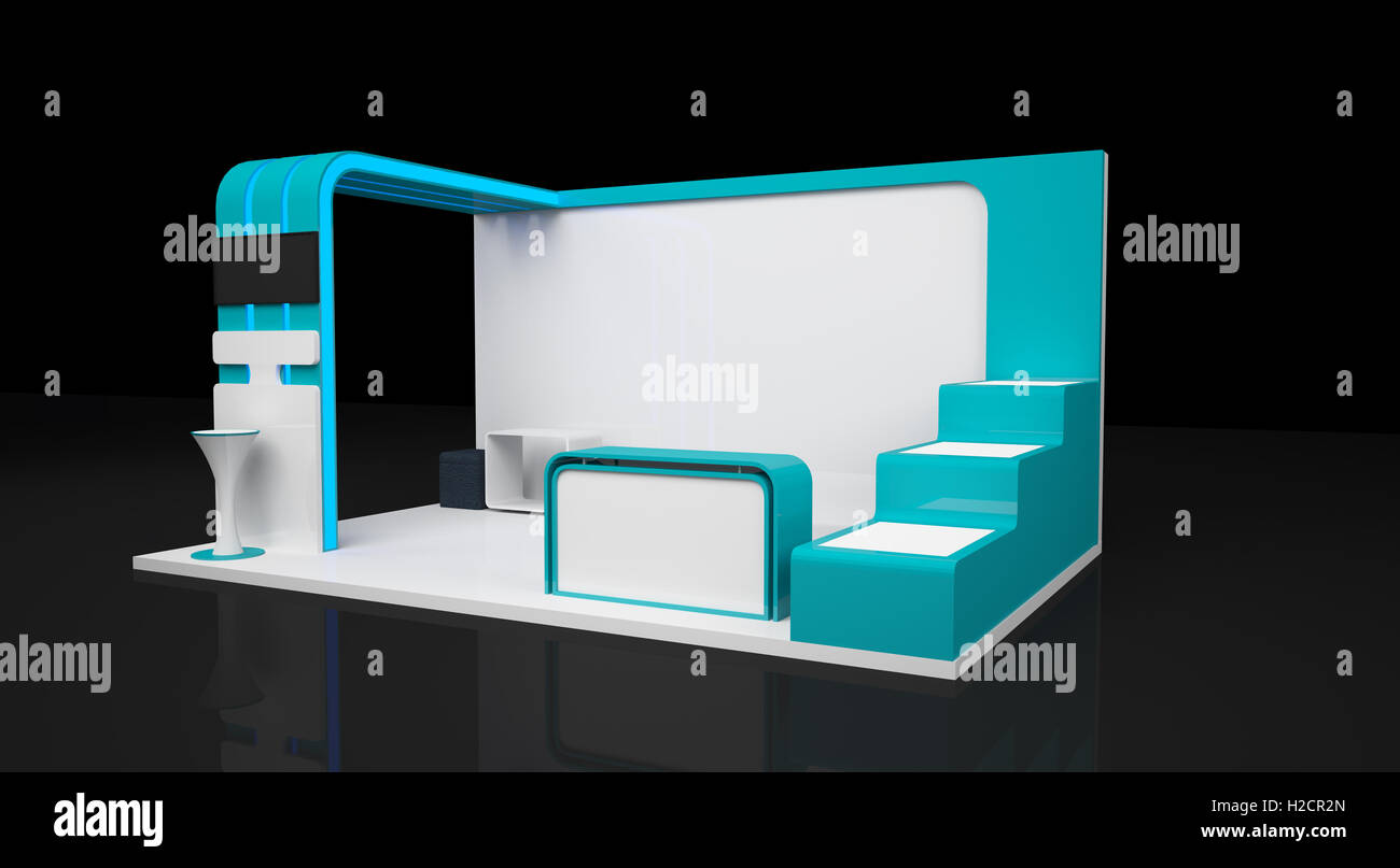 Exhibition Booth Blank : White blank indoor trade exhibition booth stand clip art