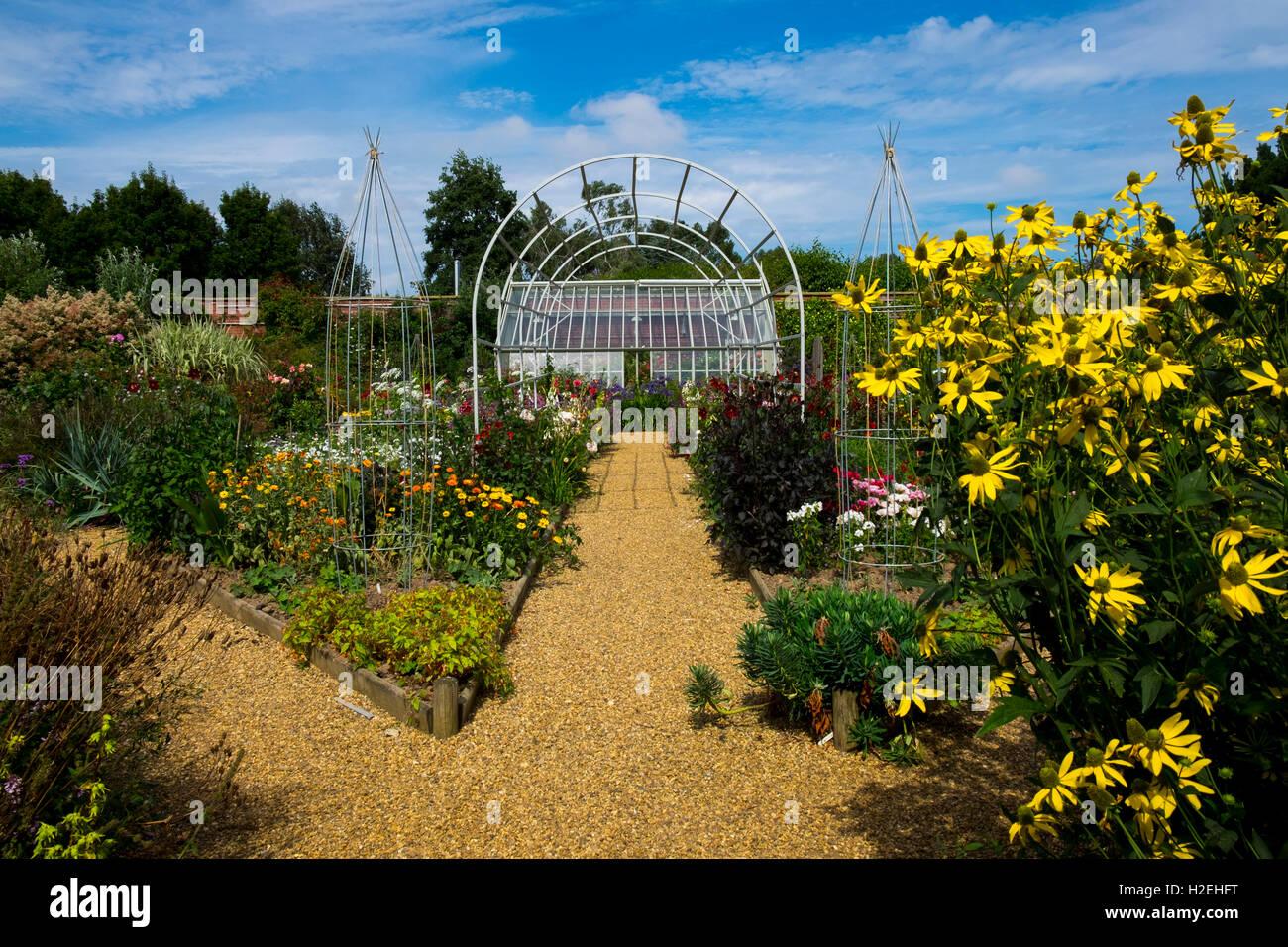 Old Vicarage Gardens, East Ruston, Norfolk, UK - Stock Image