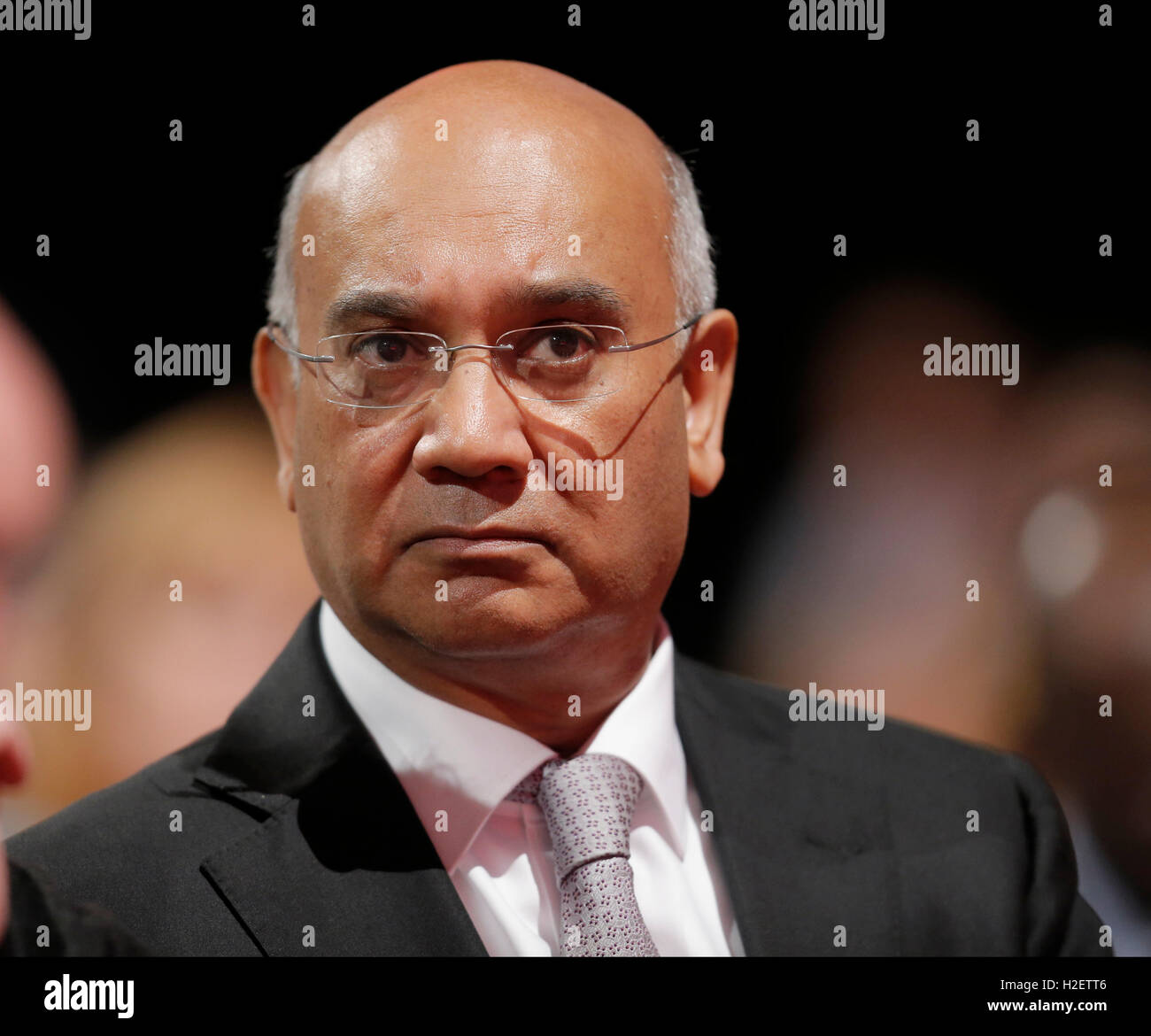 Liverpool, Uk. 27th September, 2016. Keith Vaz Labour Party Labour Party Conference 2016 The Acc Liverpool, Liverpool, Stock Photo