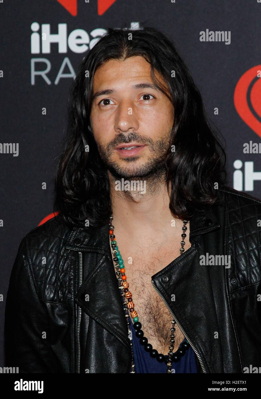 Nasri of Magic! at arrivals for 2016 iHeartRadio Music Festival