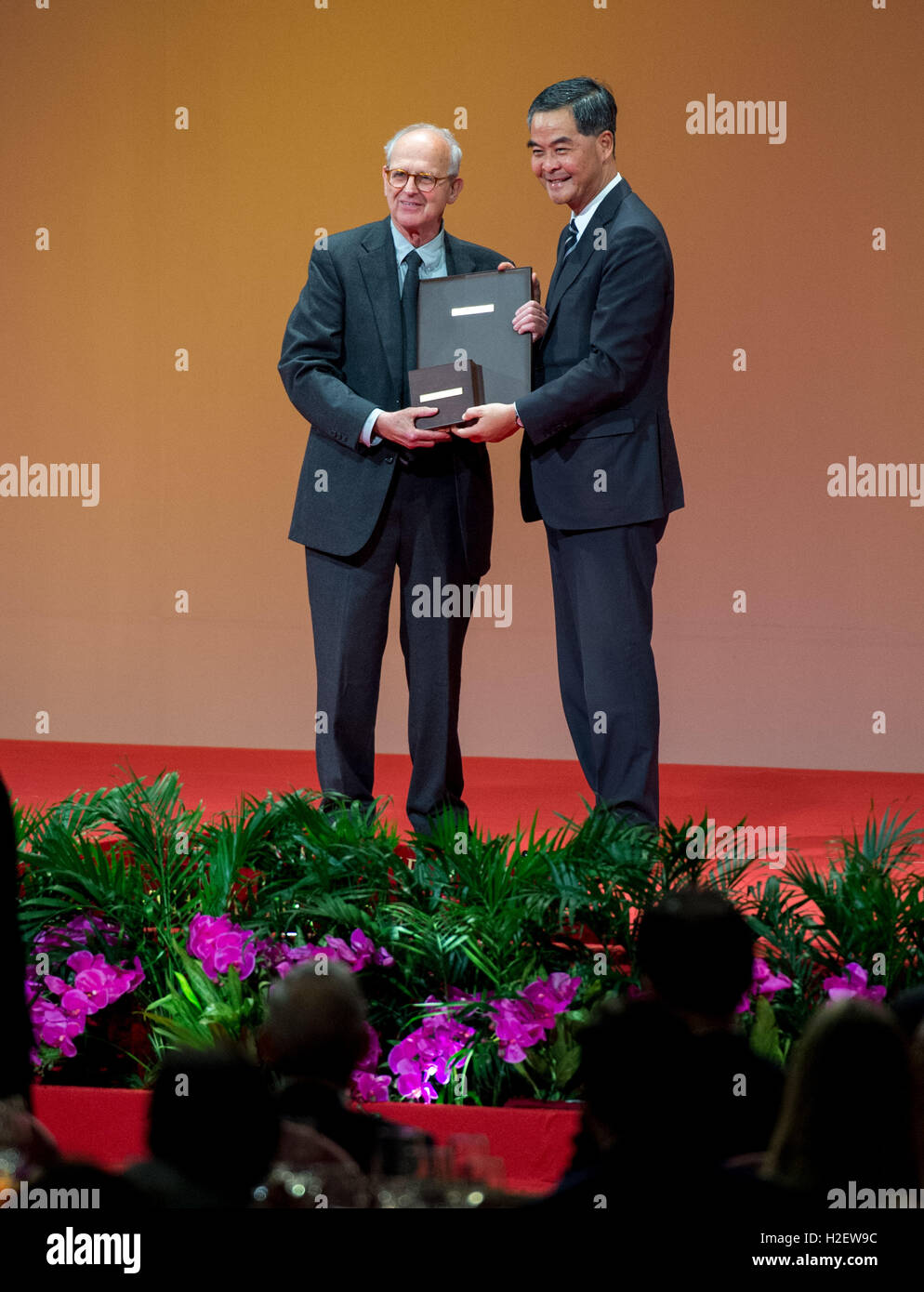 Hong Kong, Hong Kong S.A.R, China. 27th May, 2016. 2016 Shaw Laureate Professor Rainer Weiss of Massachusetts Institute - Stock Image