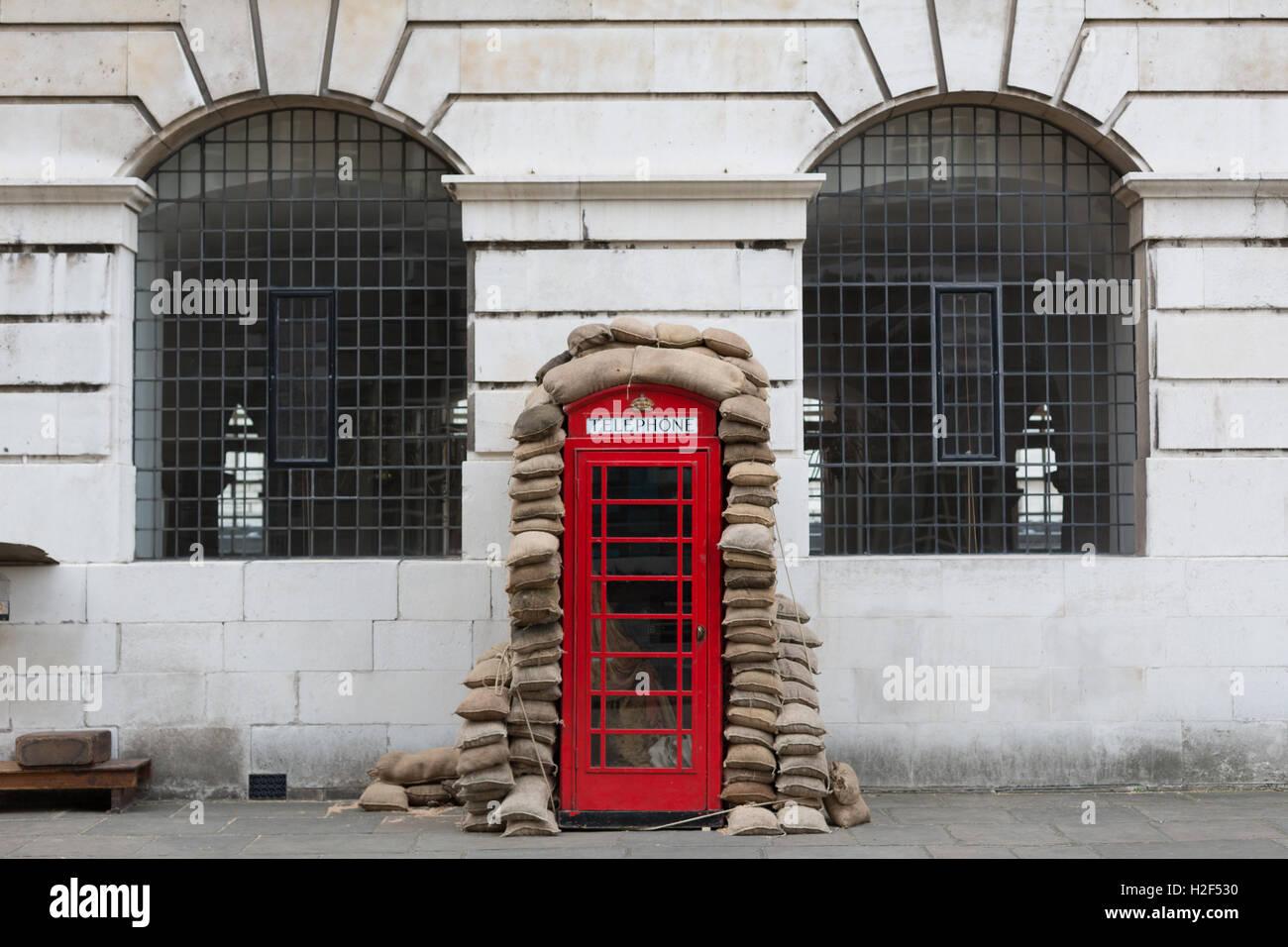 Darkest Hour film set in Greenwich, London - Stock Image