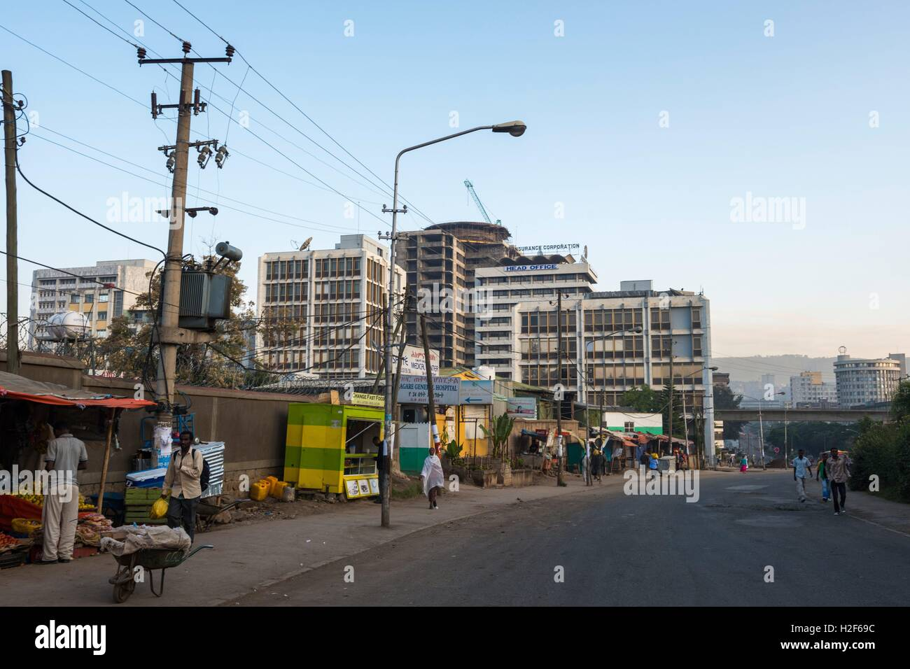 Addis Ababa is the capital city of Ethiopia  It is the
