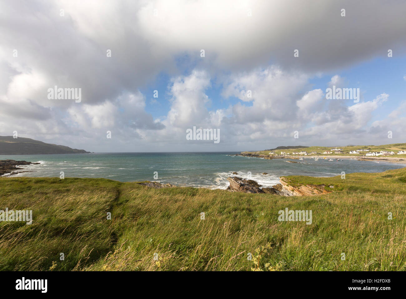 Portnablagh near Dunfanaghy, County Donegal, Ireland - Stock Image
