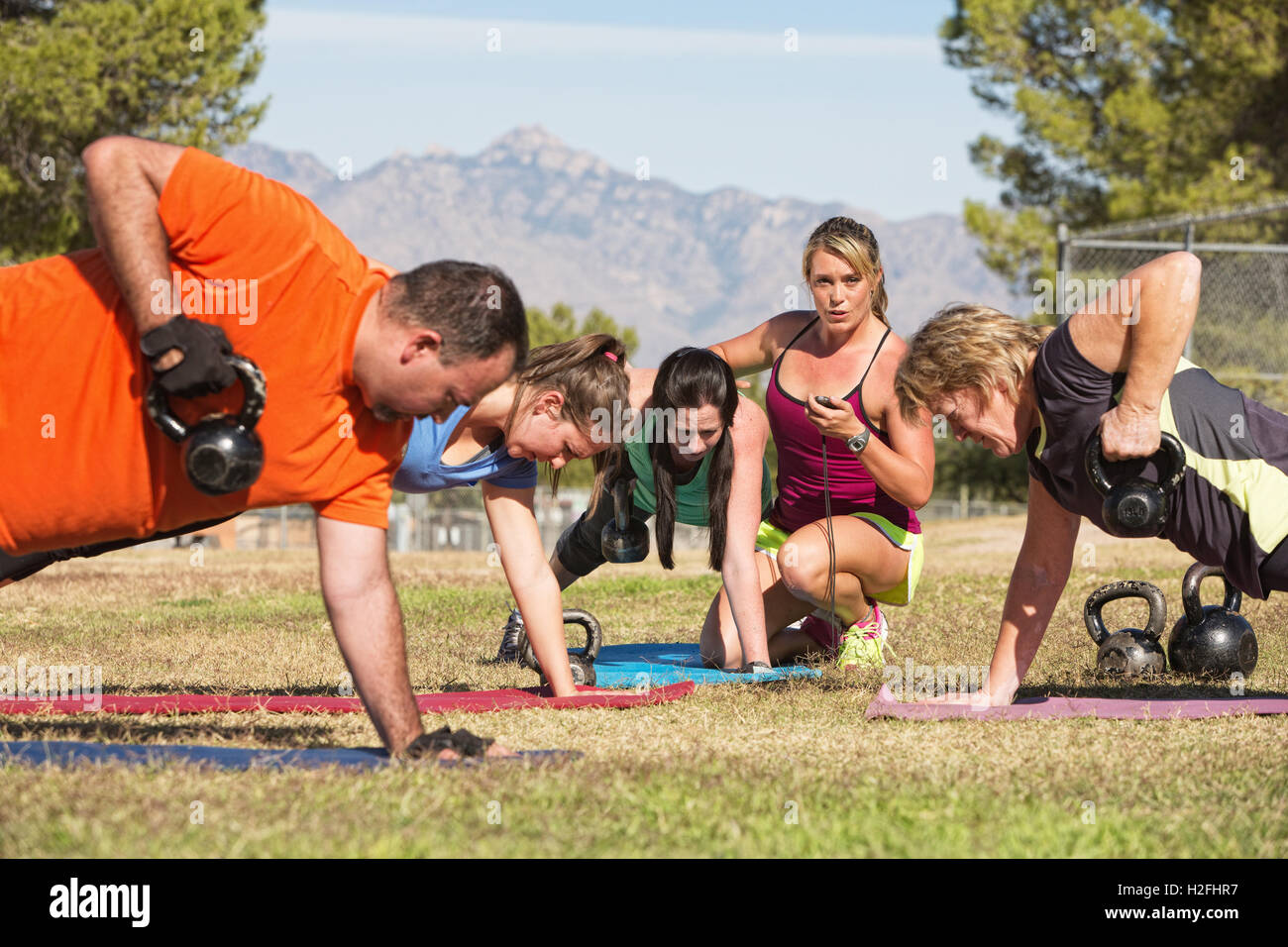 Boot camps for adults