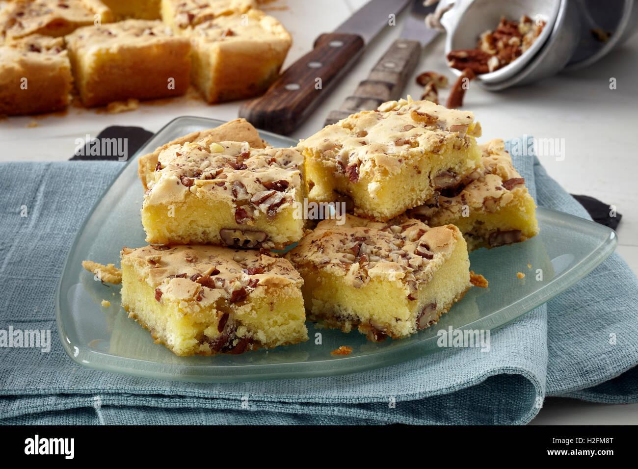 Blondiesblondies American home baking - Stock Image