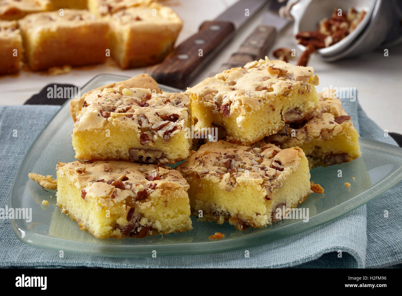 Blondies Stock Photo