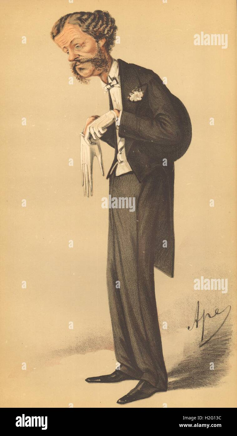 Lord Halifax /'He fell of his horse into a Peerage/' SPY CARTOON 1870 Peers
