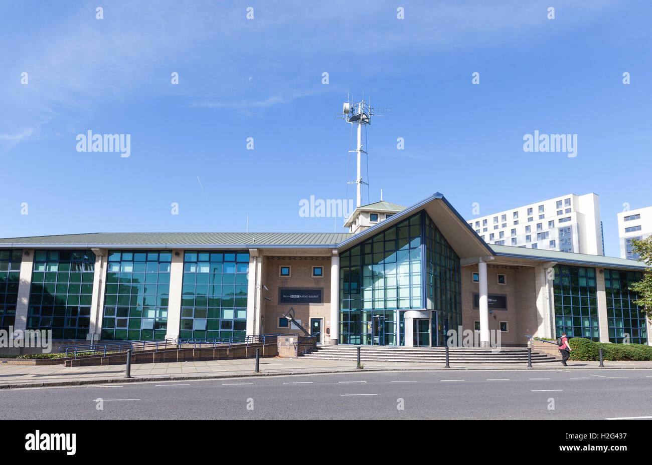 BBC Radio Solent and South Today Building Southampton - Stock Image