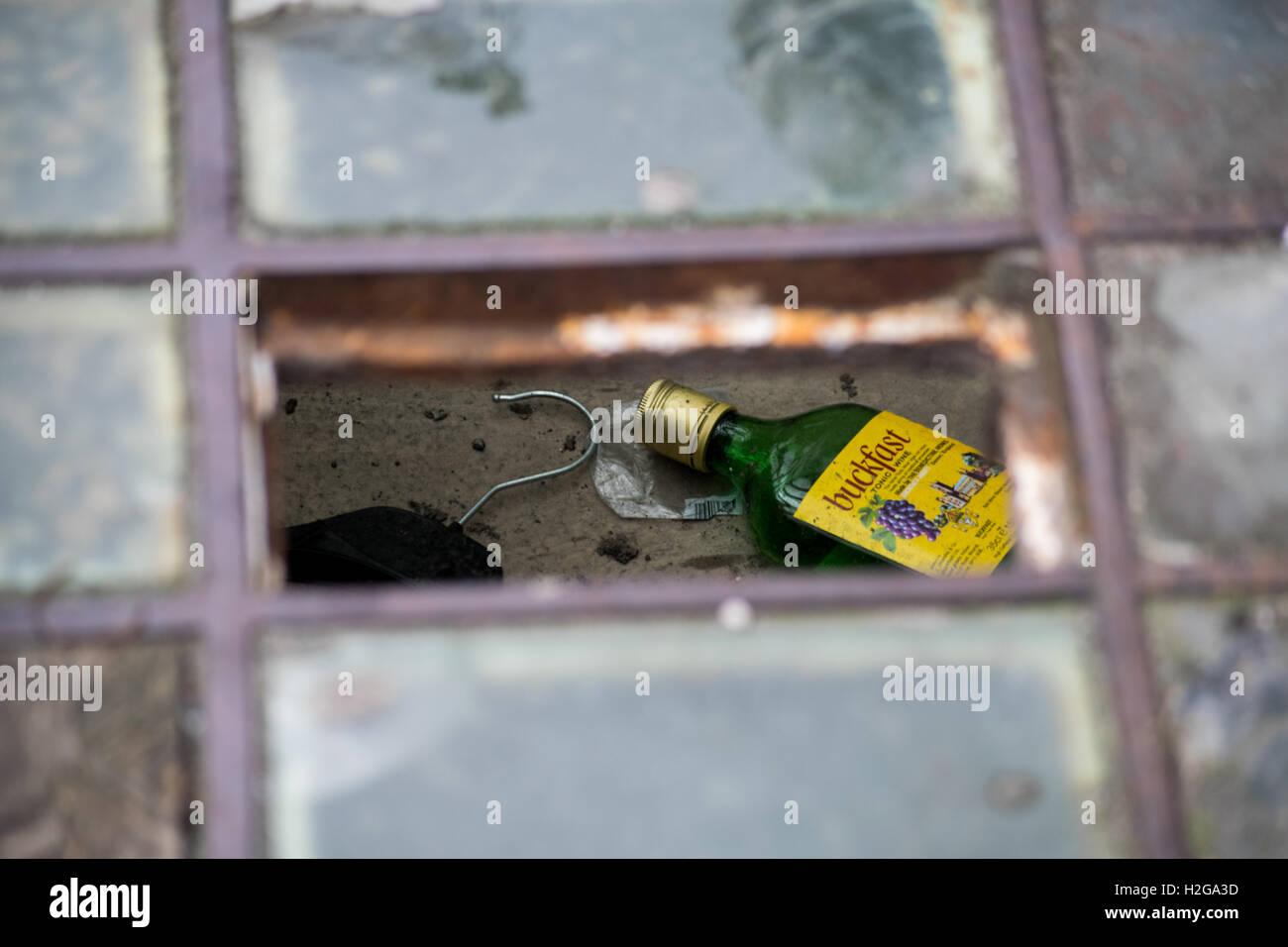Street images from around Glasgow Scotland - Stock Image
