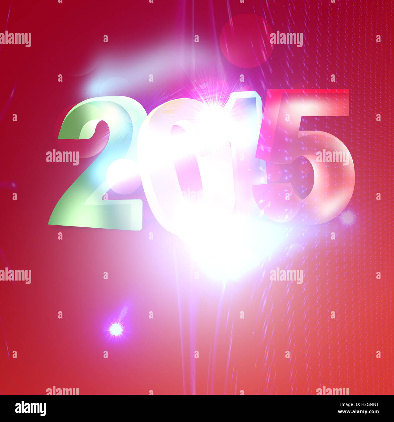Christmas 2015 image - Stock Image