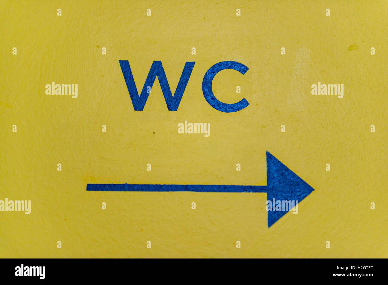 Restroom Sign With Stand Wooden Restroom Sign Restroom Sign With Arrow Rustic Restroom Sign