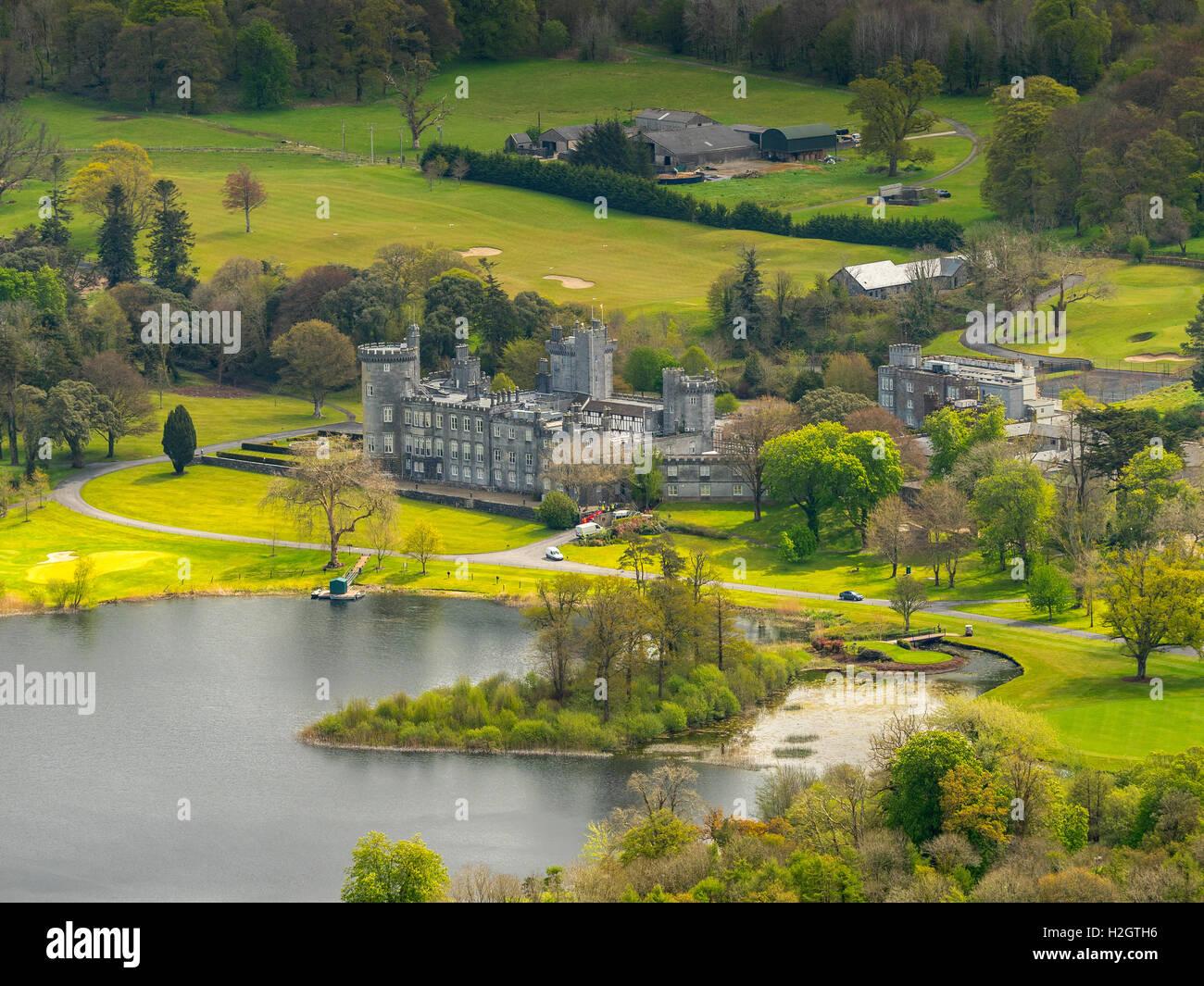 Luxurious Dromoland Castle Hotel, County Clare, Ireland - Stock Image