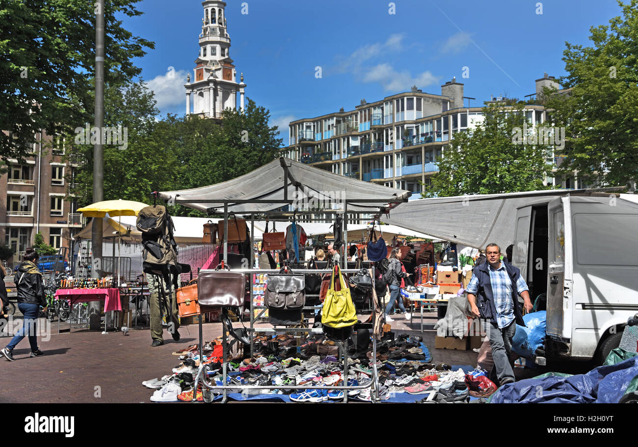 waterlooplein flea market amsterdam netherlands stock photo 122075852 alamy. Black Bedroom Furniture Sets. Home Design Ideas