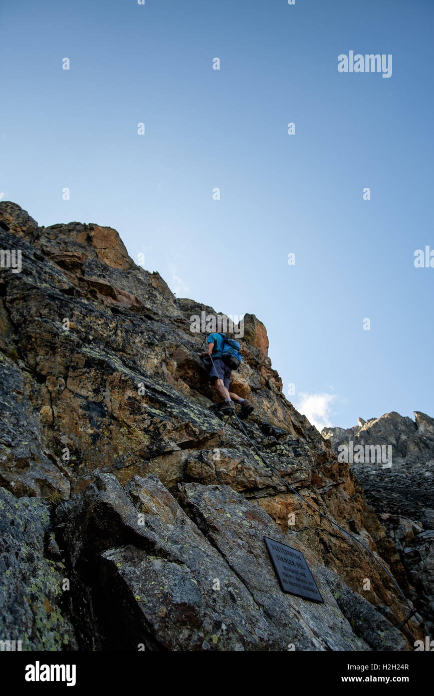 Tiroler Steig, Nauders - Stock Image