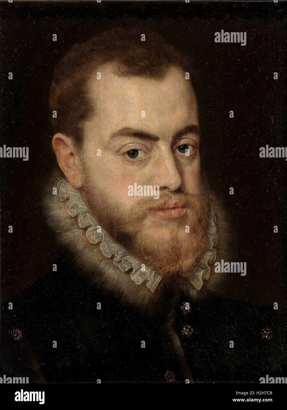 Philip II Spain - Stock Image