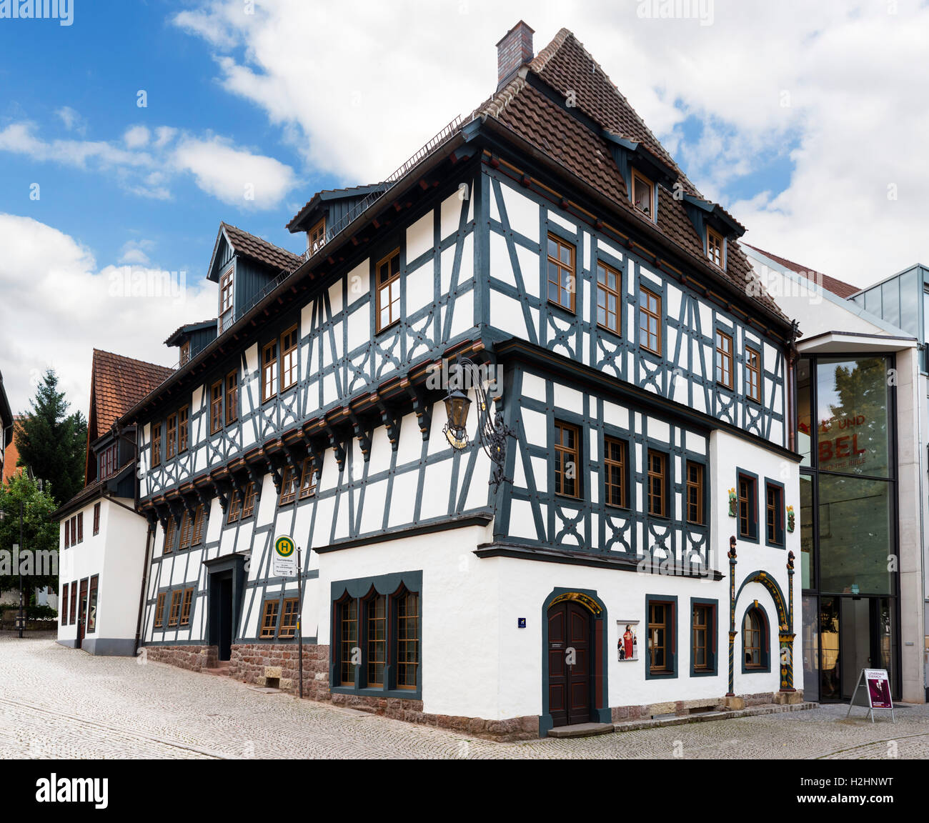 The Luther House in Eisenach, Thuringia, Germany - Stock Image