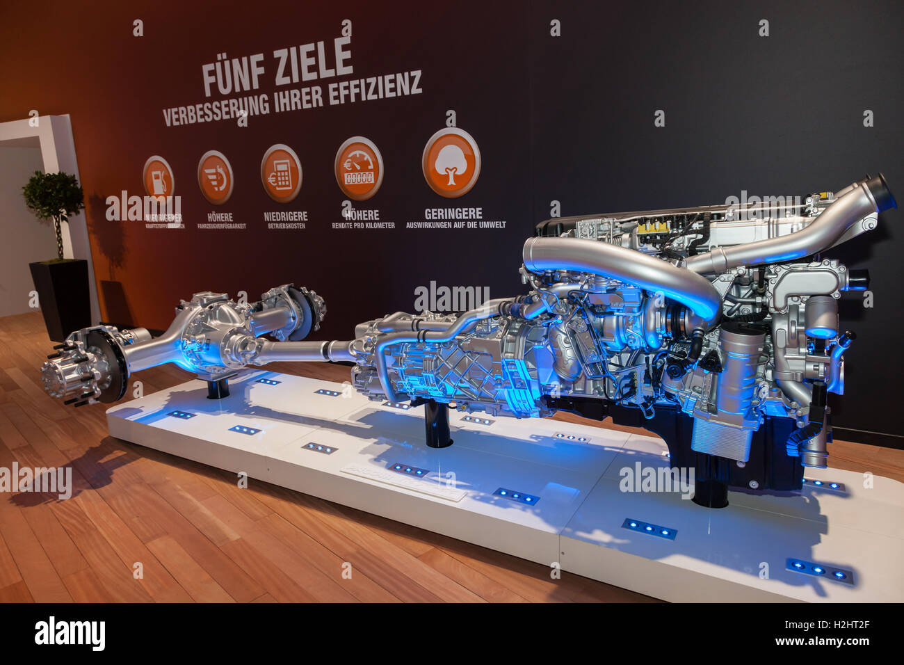 Paccar DAF heavy duty truck transmission Stock Photo: 122093959 - Alamy