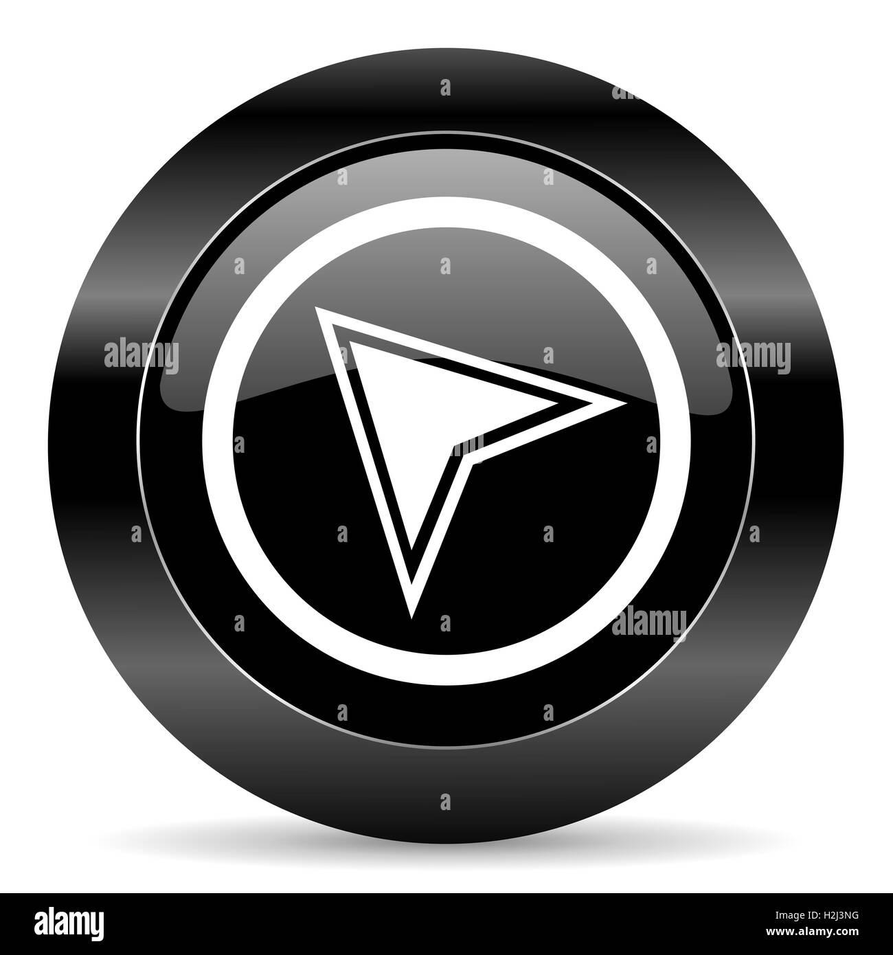 navigation icon - Stock Image