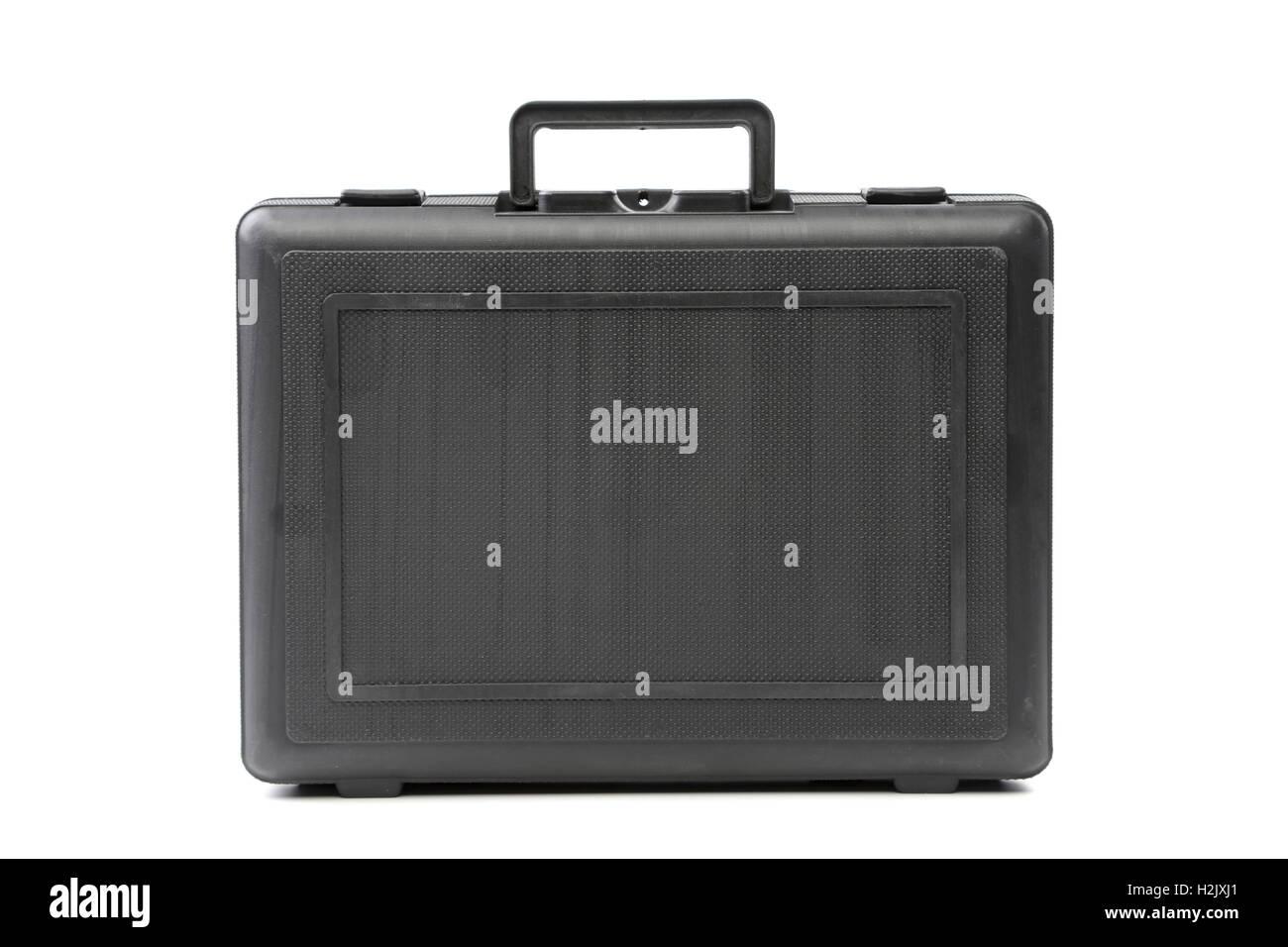 Black heavy-duty case. - Stock Image