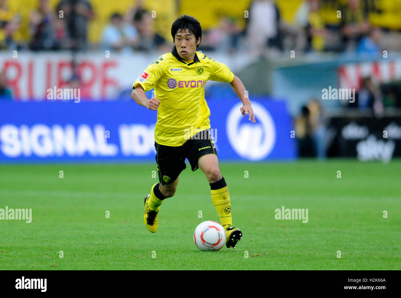 Fussball-Bundesliga, professional association football league in Germany, Season 2010-2011, 1st match of the round, - Stock Image