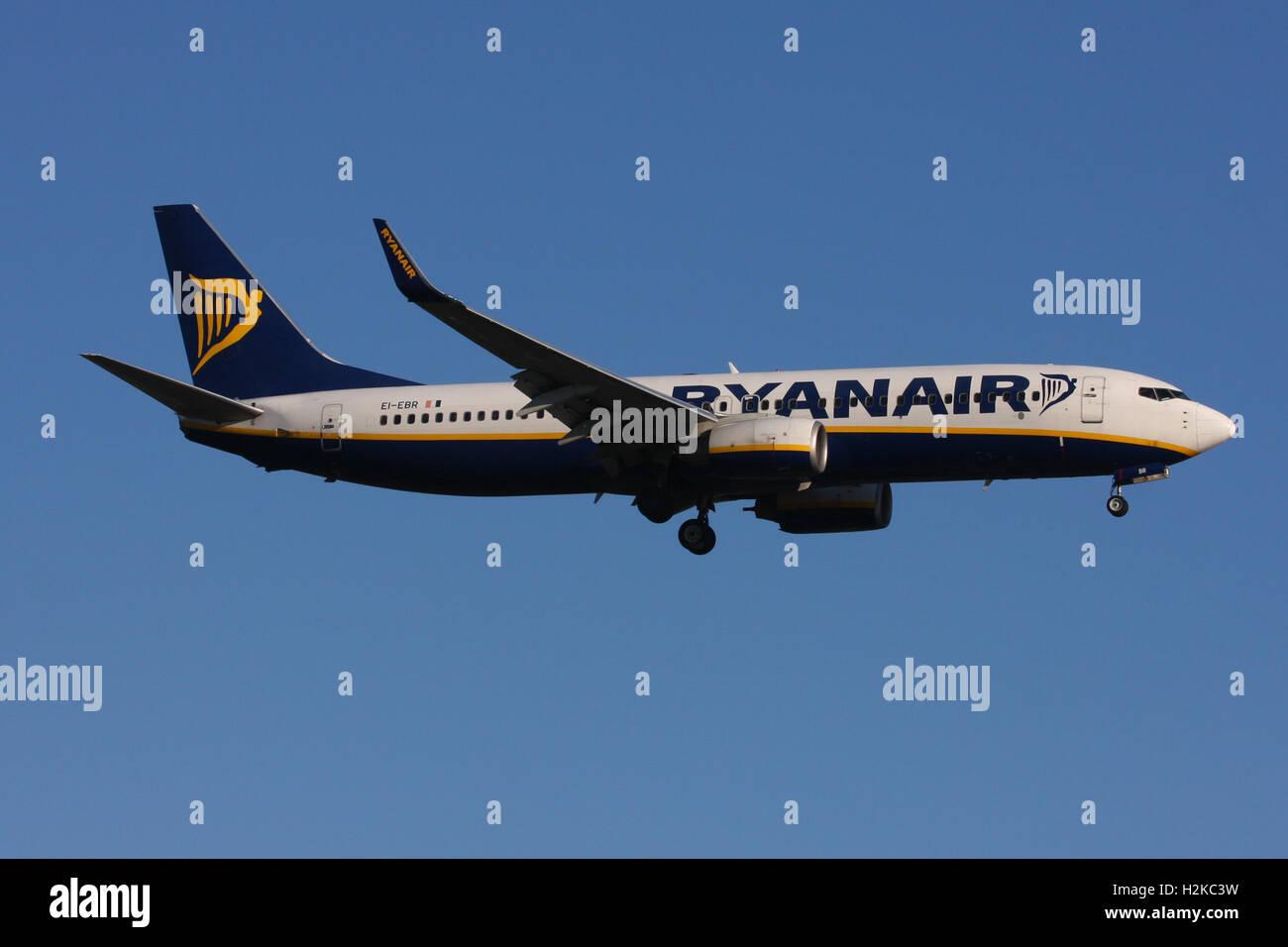 RYANAIR 737 - Stock Image