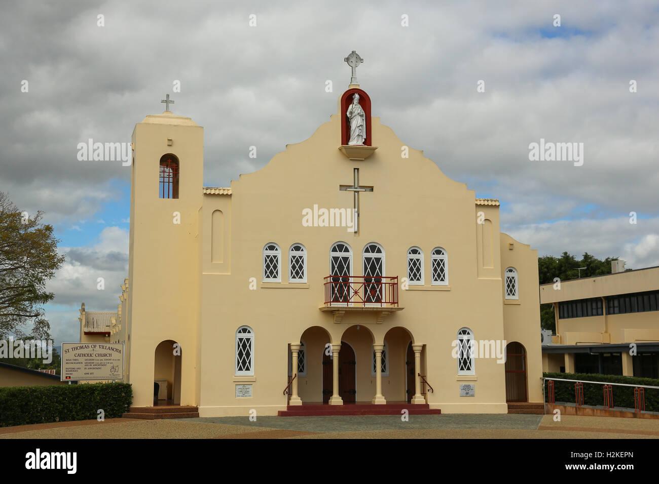 St Thomas Of Villanova Catholic Church In Mareeba Queensland Stock