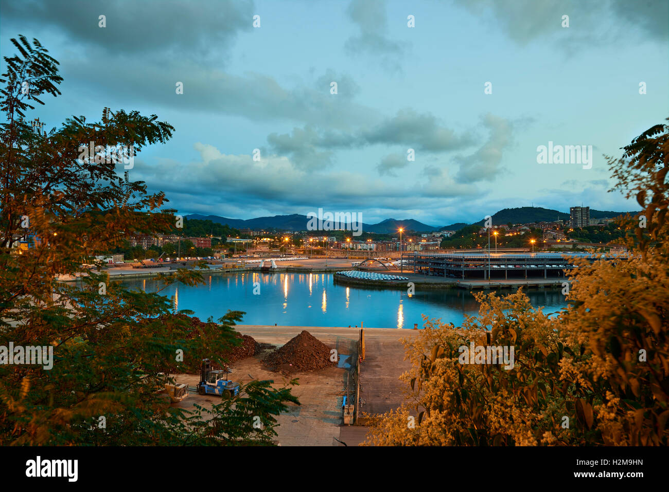 Port of Pasajes, Guipuzcoa, Basque Country, Euskadi, Euskal Herria, Spain, Europe - Stock Image