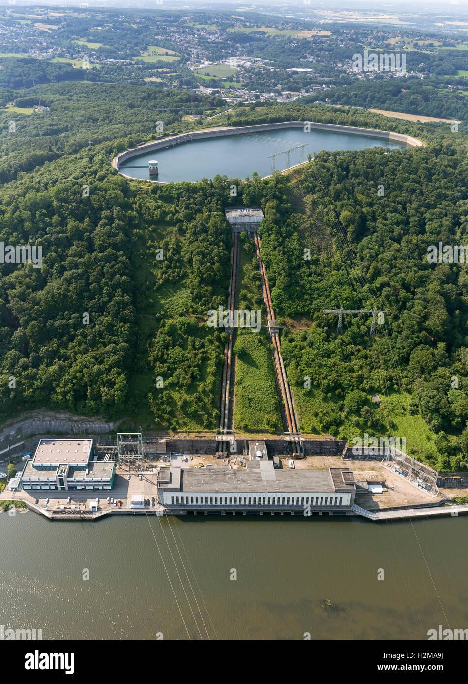 pumped storage hydropower stock photos \u0026 pumped storage hydropoweraerial view, pumped storage power plant koepchenwerk, energy storage, hydropower plant, hengsteysee