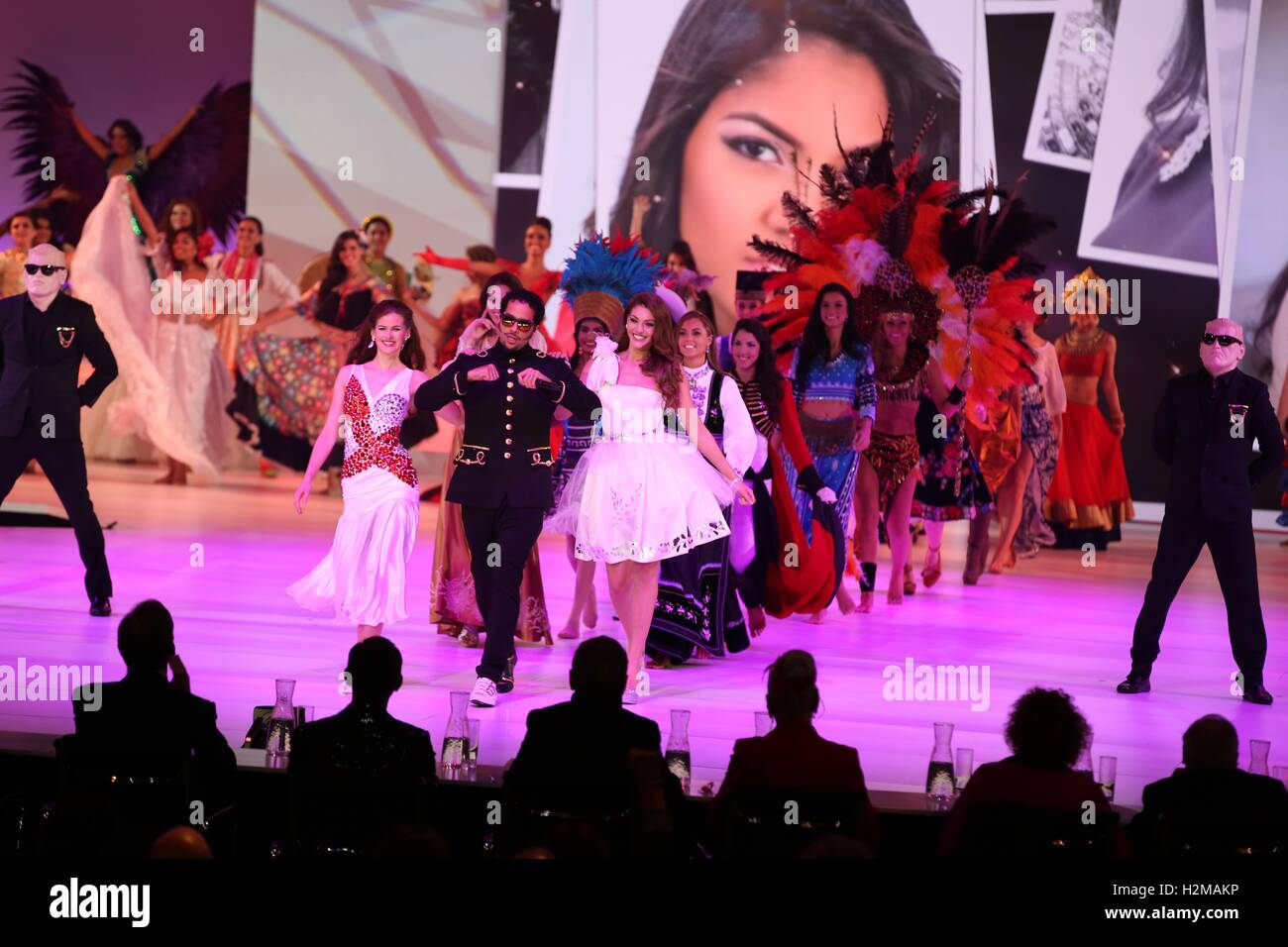 Miss World 2014 Pageant - Stock Image