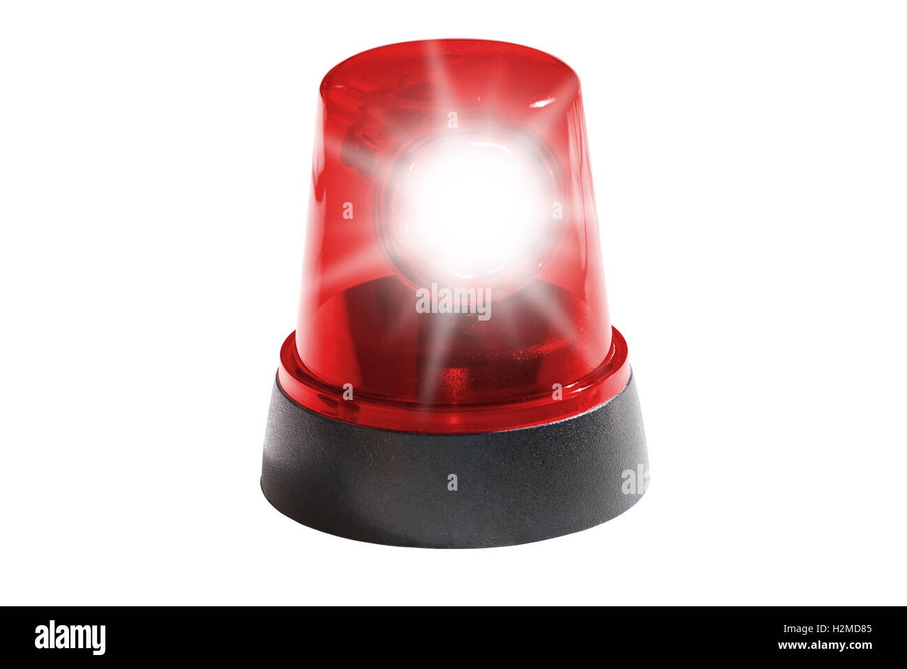 Red Siren Light Stock Photo: 122151349 - Alamy