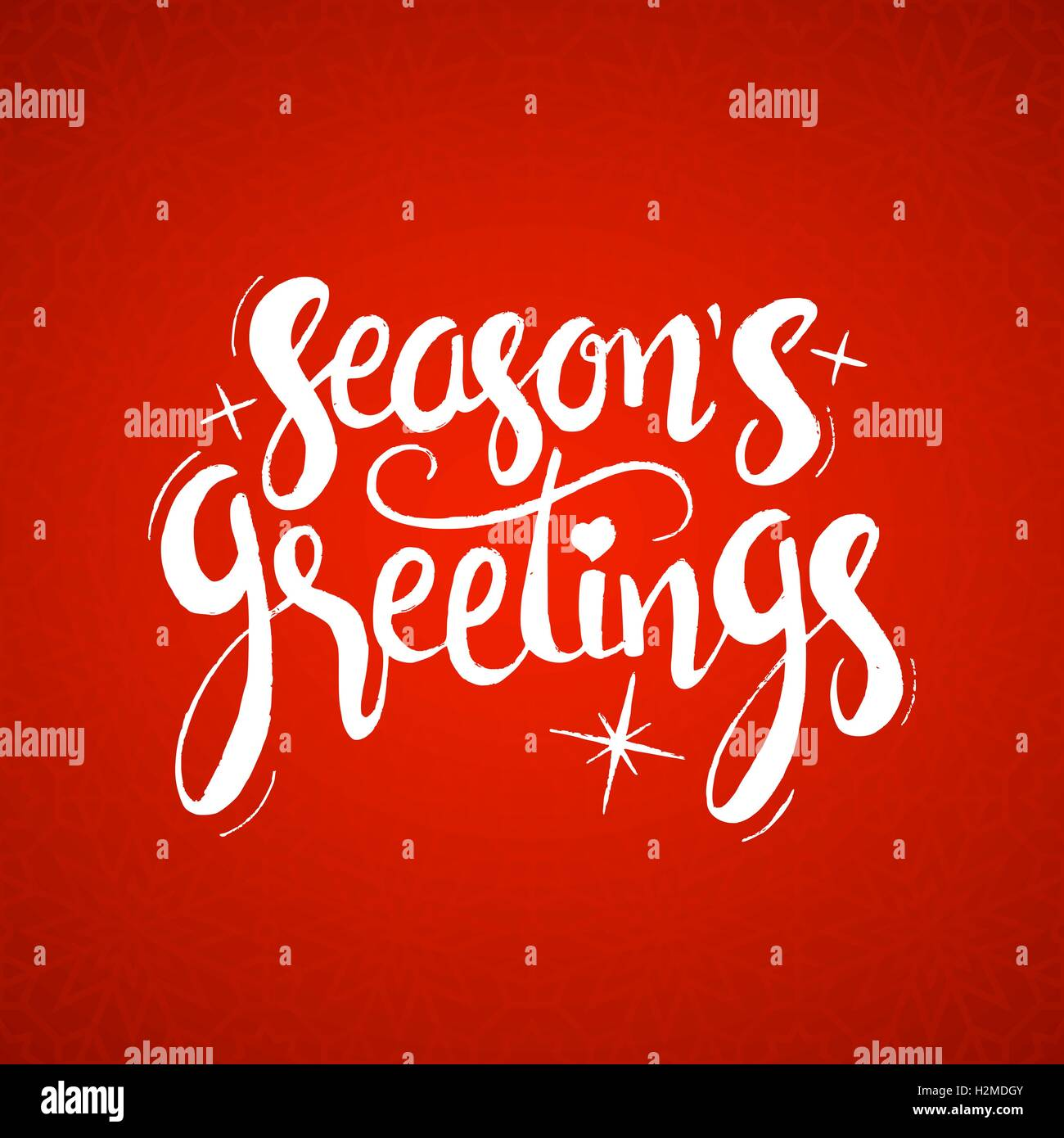 Seasons greetings lettering modern vector hand drawn calligraphy seasons greetings lettering modern vector hand drawn calligraphy over red holiday background for your greeting card design m4hsunfo