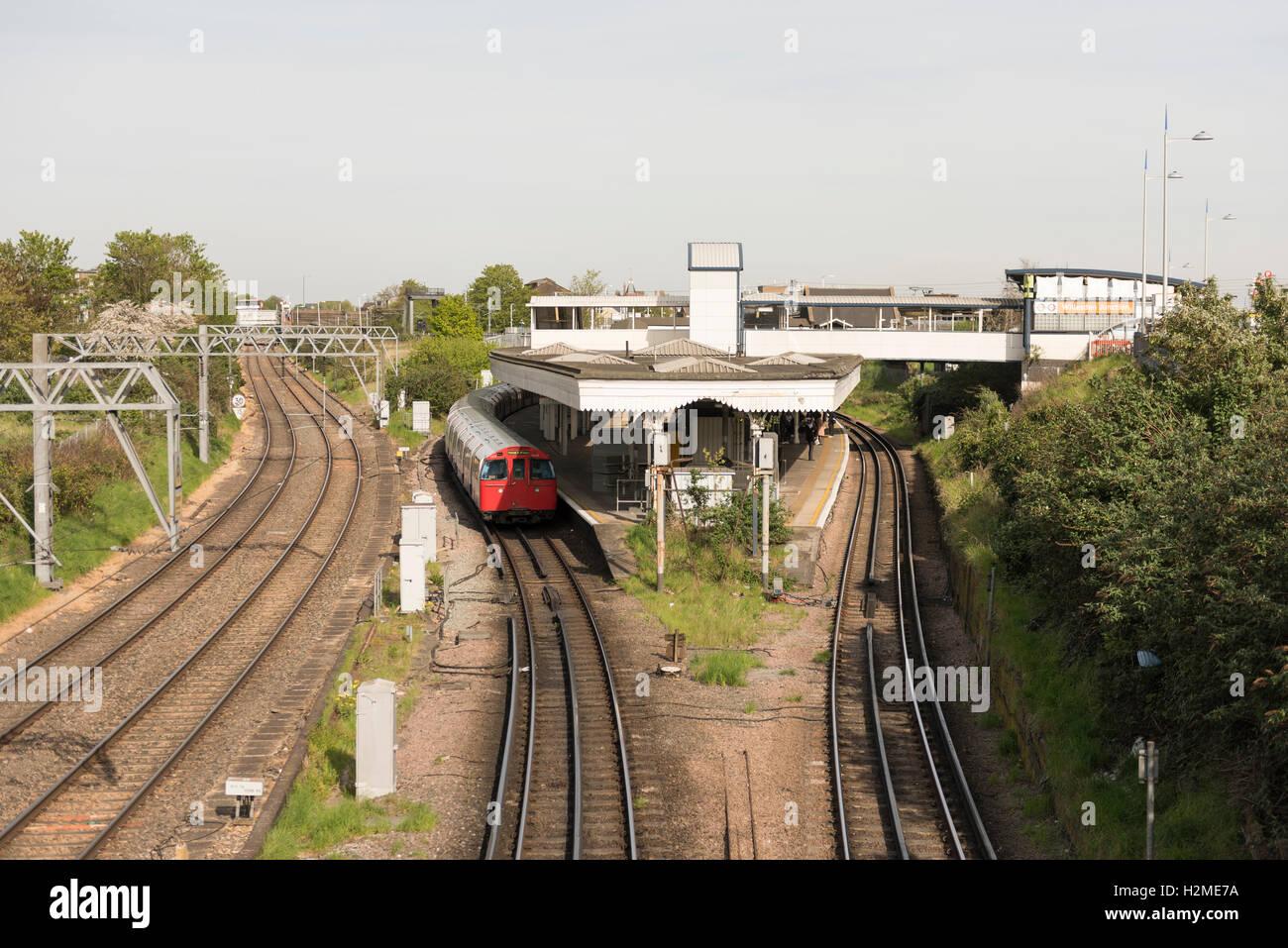 Willesden Junction Station, London, England - Stock Image