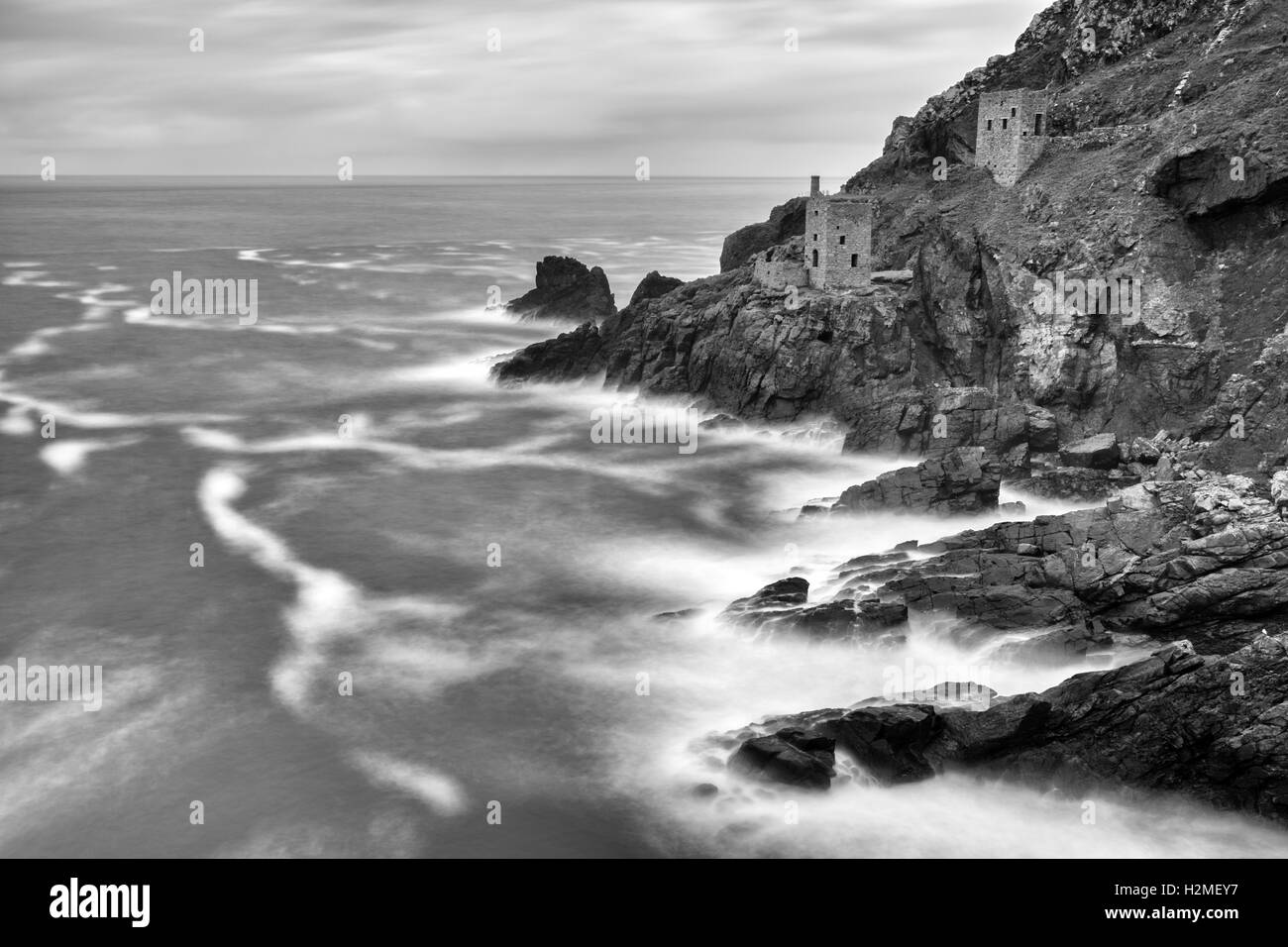 Botallack Mines St Just Cornwall - Stock Image
