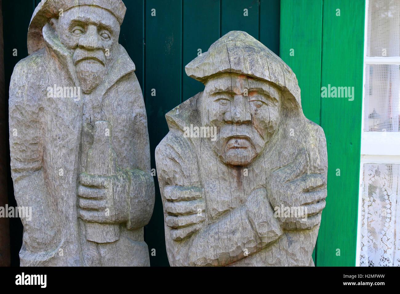 Skulpturengarten, Hiddensee. - Stock Image