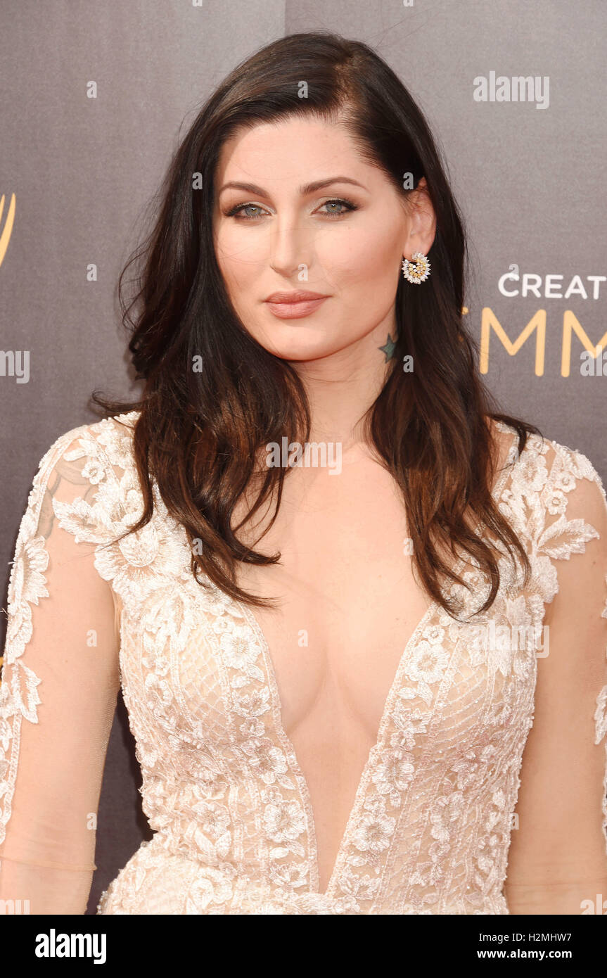 TRACE LYSETTE US film actress in September 2016. Photo Jeffrey Mayer - Stock Image