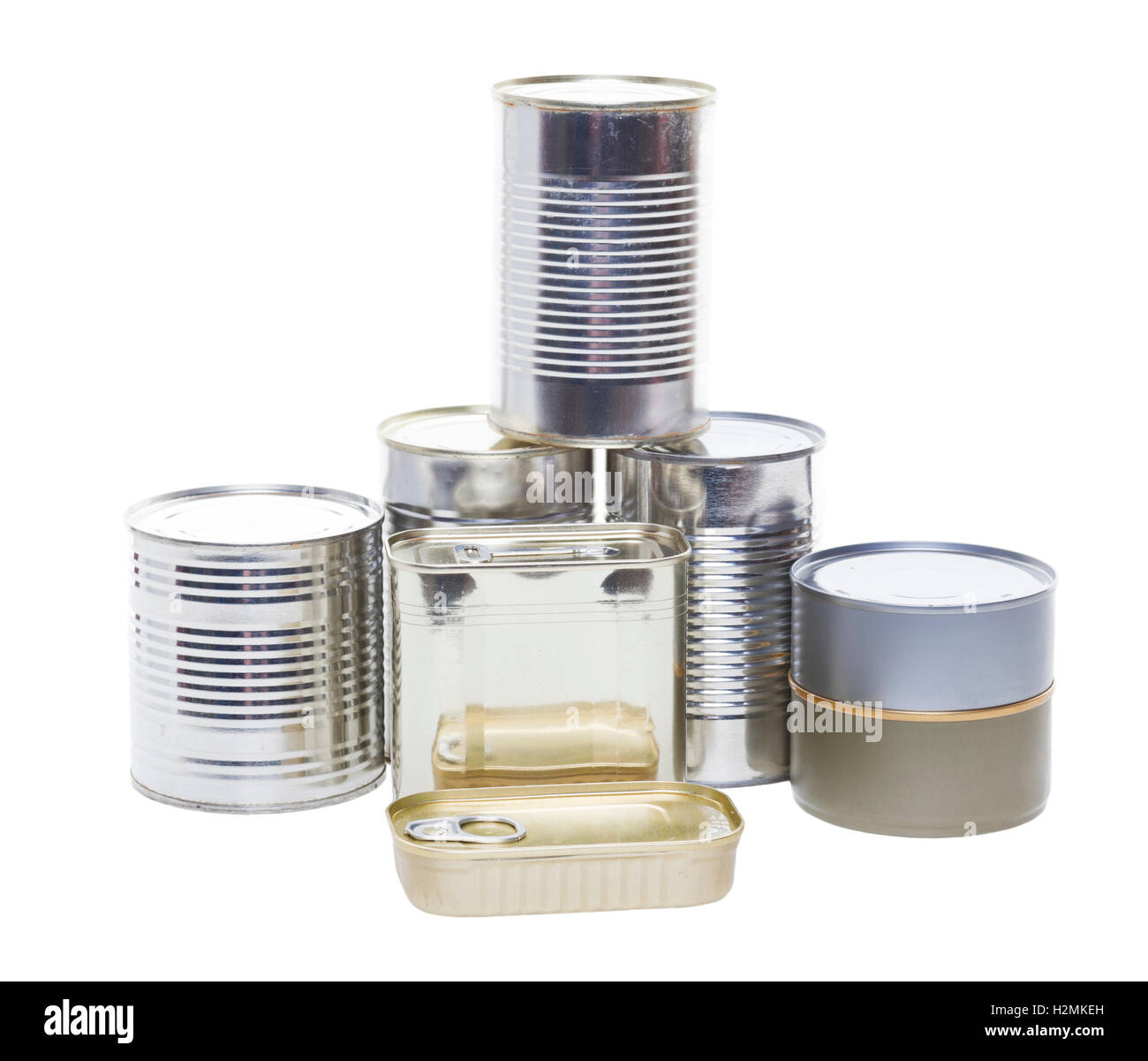 Canned Goods - Stock Image