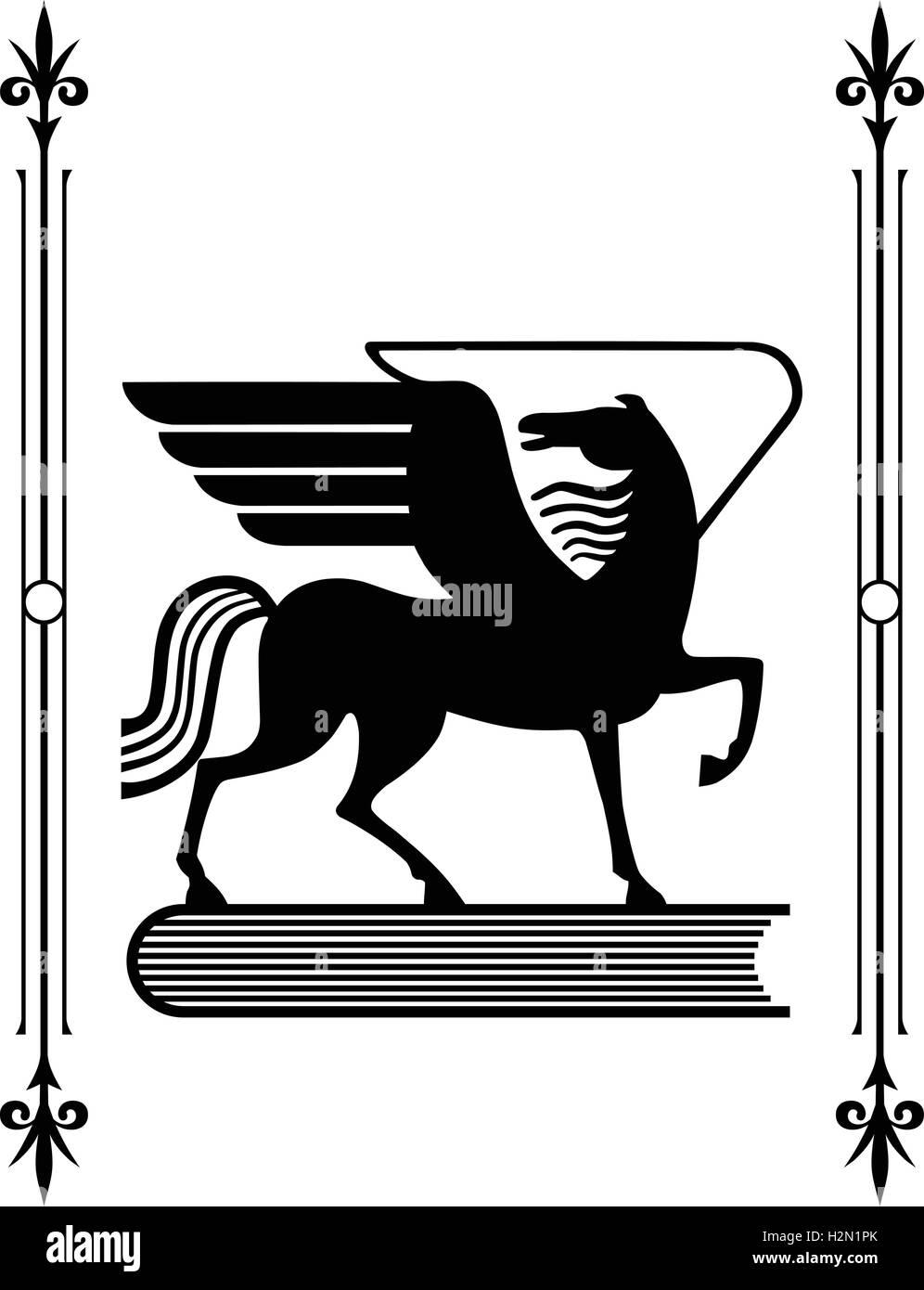 Symbol of greek mythology the winged horse pegasus a favorite of symbol of greek mythology the winged horse pegasus a favorite of the muses buycottarizona Images