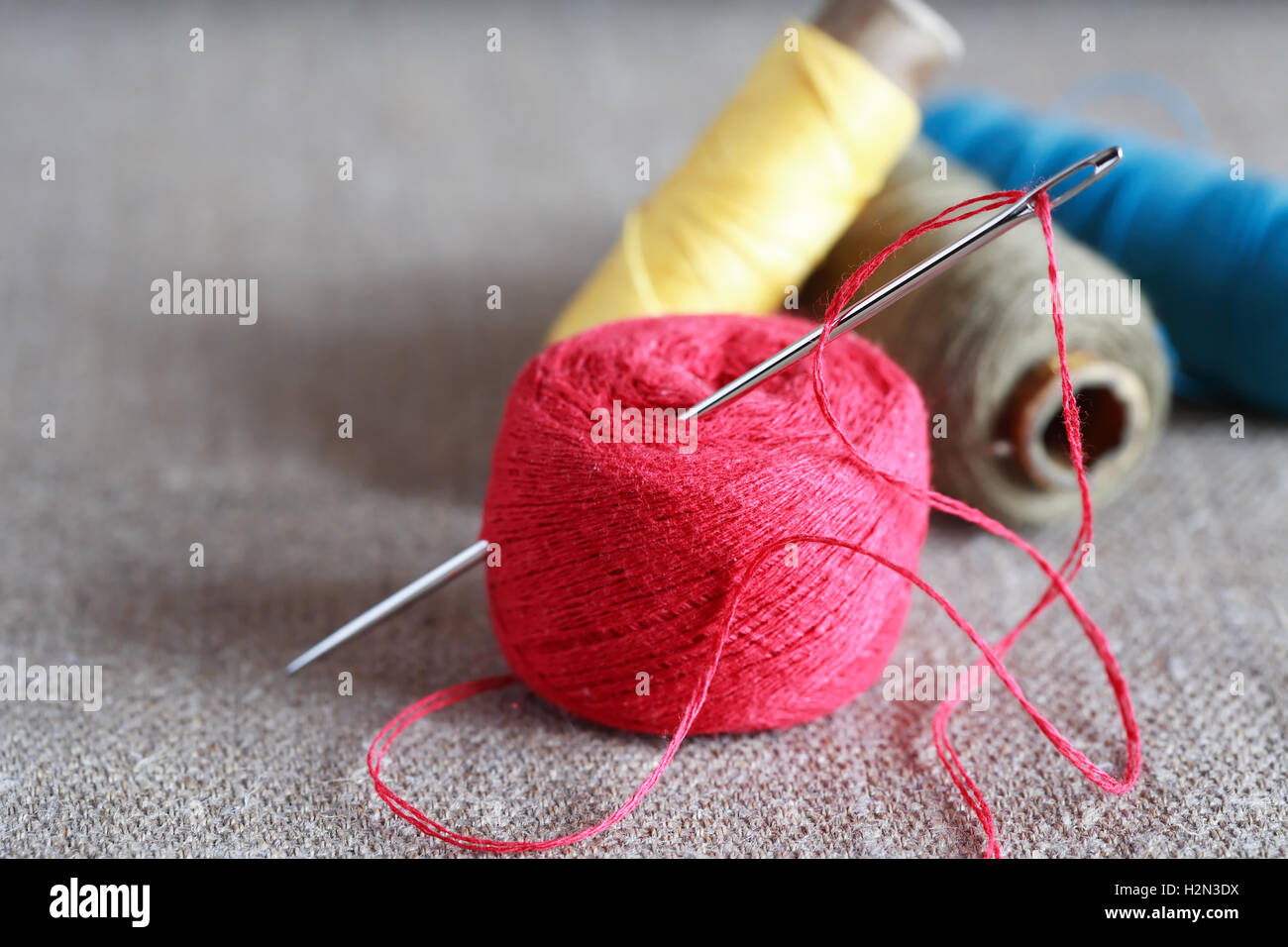 Sewing Tools - Stock Image