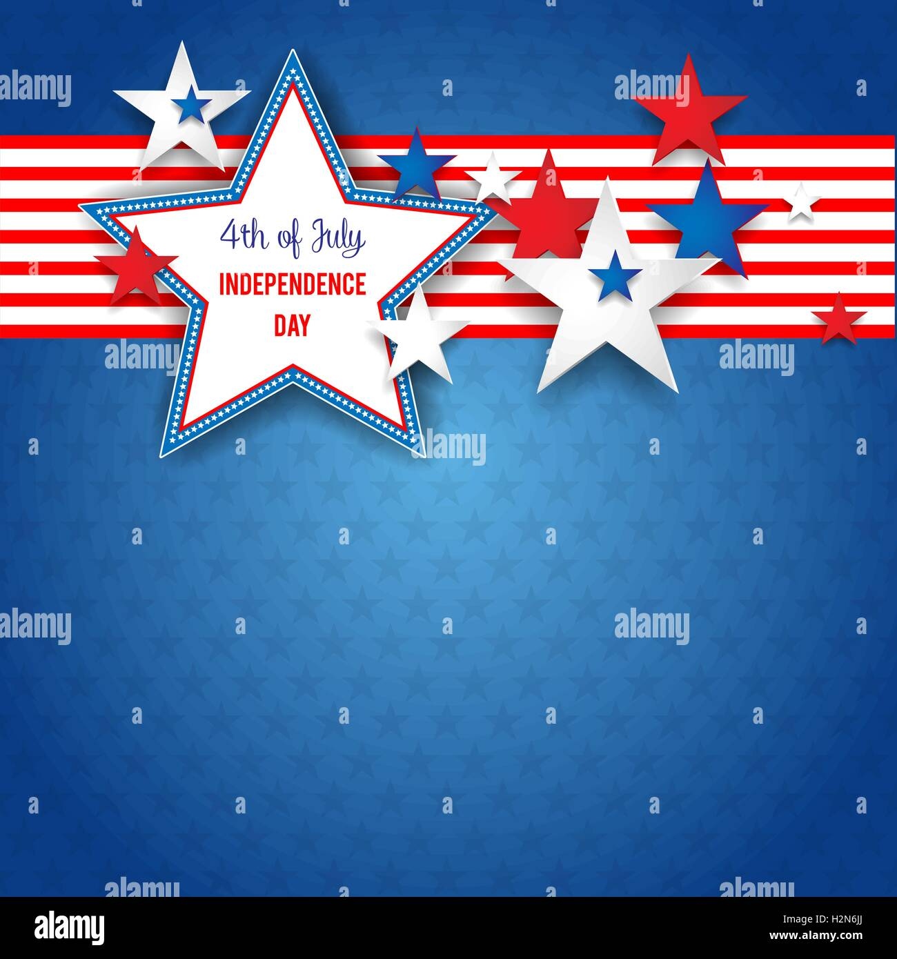 Independence day abstract background - Stock Vector