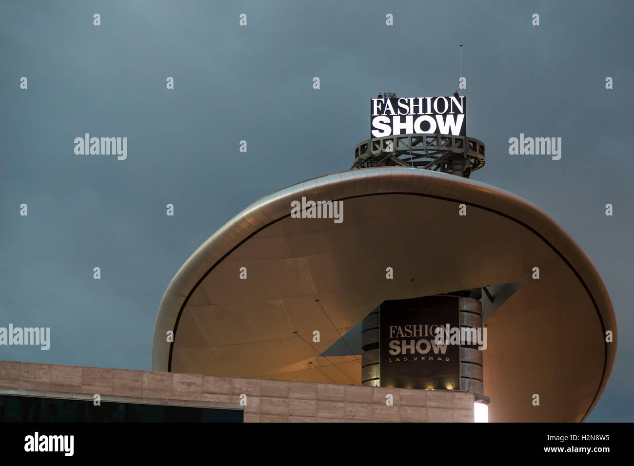 Las Vegas, Nevada - The Fashion Show shopping mall. - Stock Image