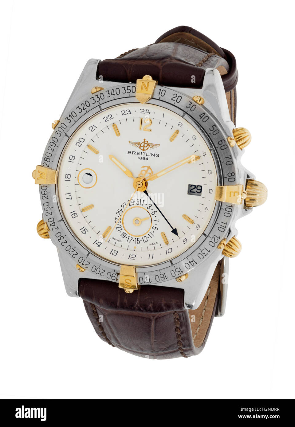 Breitling mans watch - Stock Image