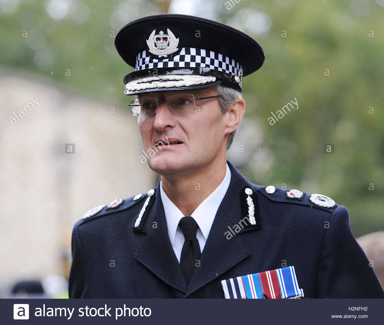 File photo dated 30/09/12 of South Yorkshire's most senior police officer David Crompton, who was told to step - Stock Image
