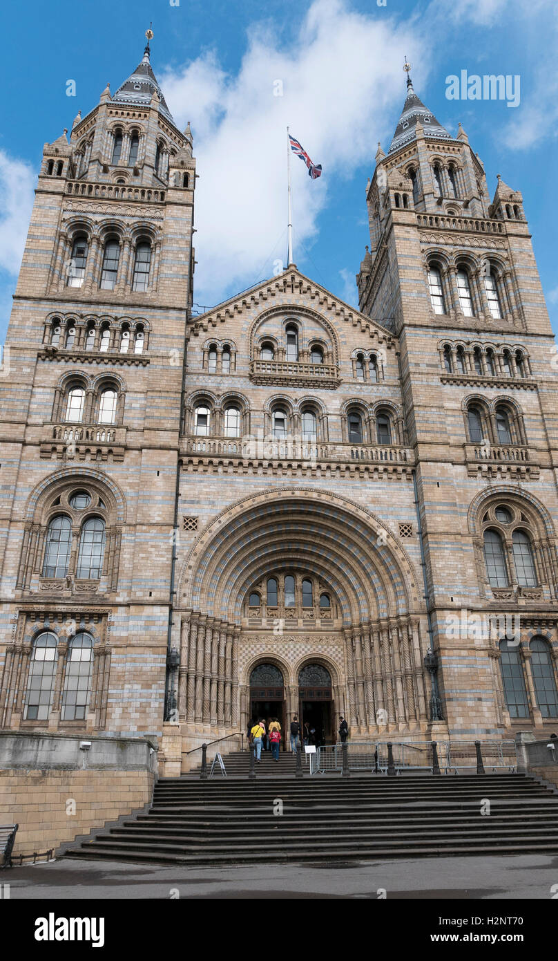Natural History Museum Kensington London - Stock Image