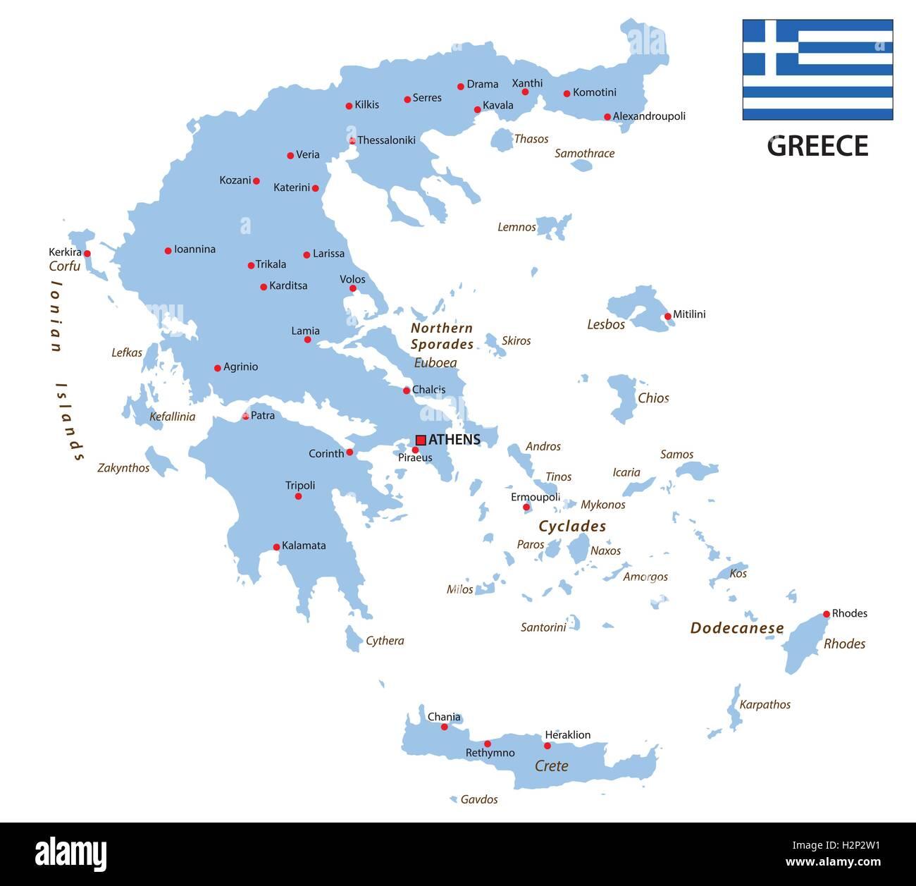 Greece Map Stock Photos & Greece Map Stock Images - Alamy