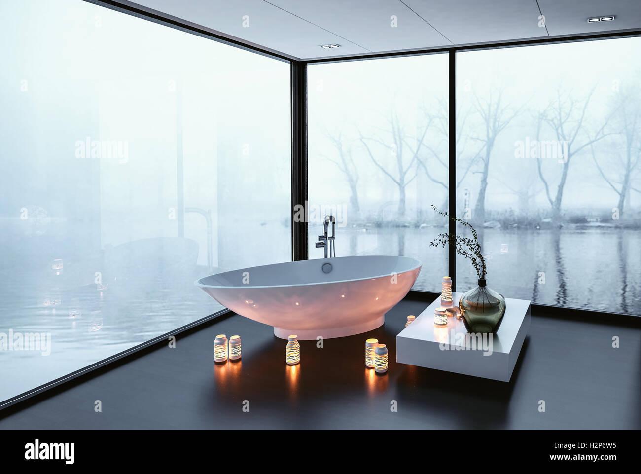 Freestanding Bathtubs Stock Photos & Freestanding Bathtubs Stock ...