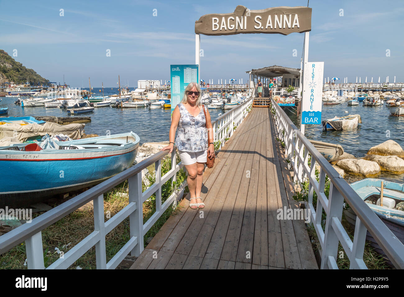 Sorrento italy sign stock photos sorrento italy sign stock images alamy - Bagni sant anna sorrento ...