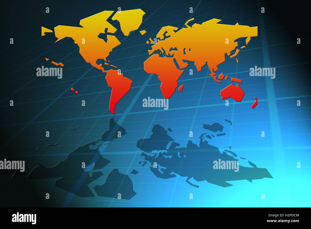 Geographical world map stock photos geographical world map stock world map stock image gumiabroncs Image collections