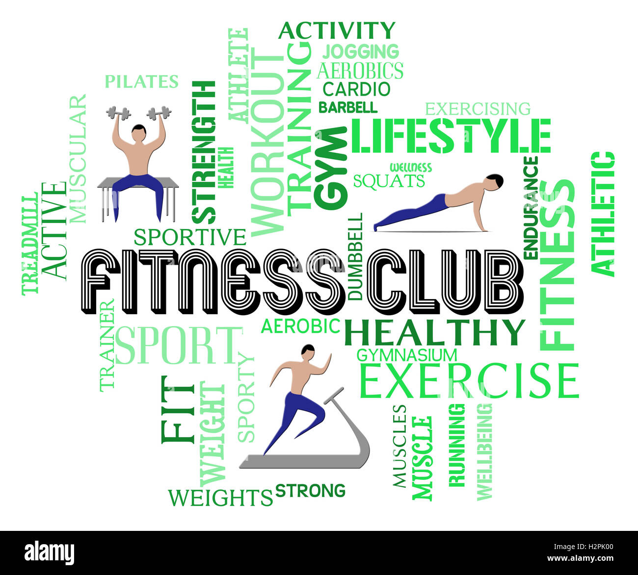 680ee2c8e7f Fitness Club Meaning Working Out Gym Membership Stock Photo ...